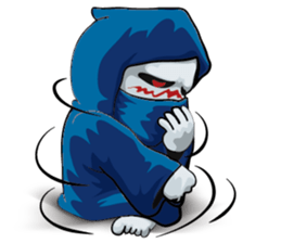Mr. Blue Reaper for Winter messages sticker-5