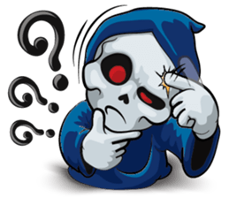 Mr. Blue Reaper for Winter messages sticker-9