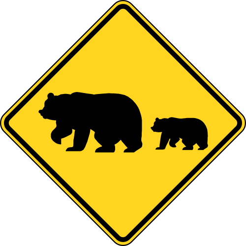 US Road Signs for iMessage messages sticker-4