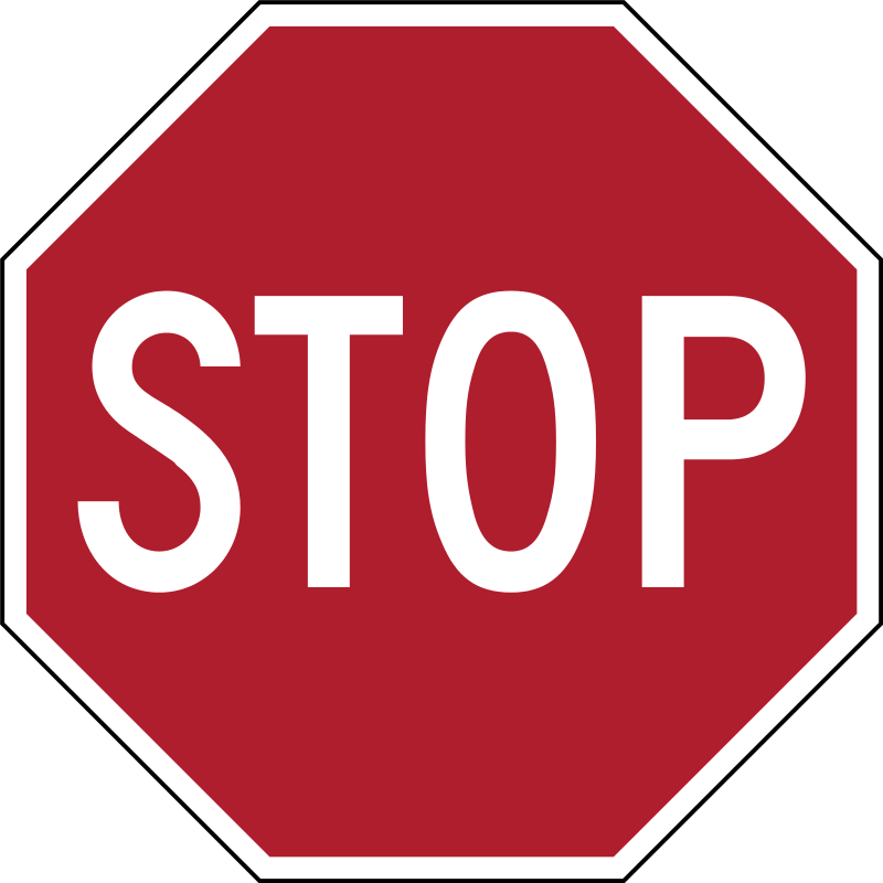 US Road Signs for iMessage messages sticker-0