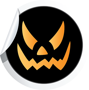 Halloween Stickies messages sticker-10