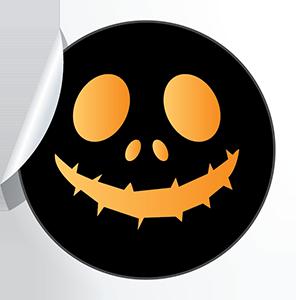 Halloween Stickies messages sticker-6