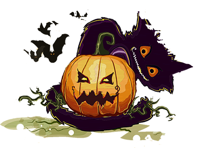 Halloween Sticker, Emoji - Fv Pack 04 messages sticker-3