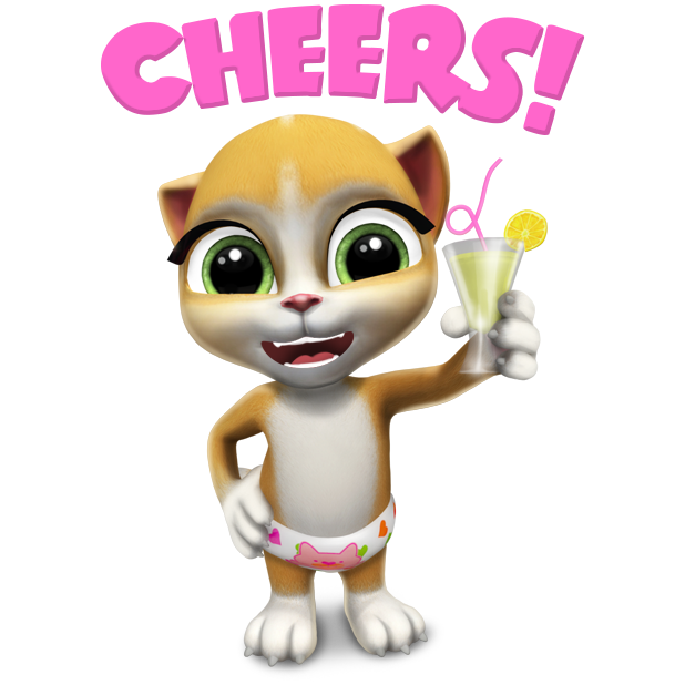 Emma The Cat - Virtual Pet Games for Kids messages sticker-2