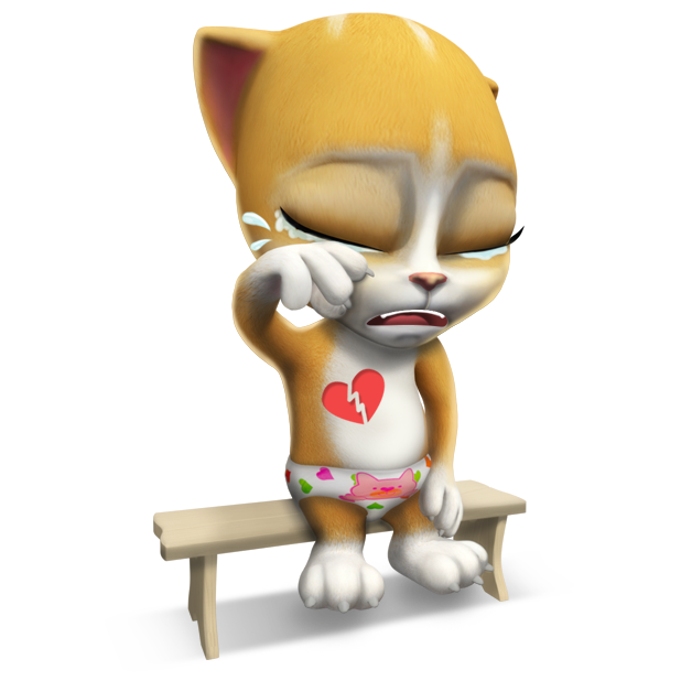 Emma The Cat - Virtual Pet Games for Kids messages sticker-3