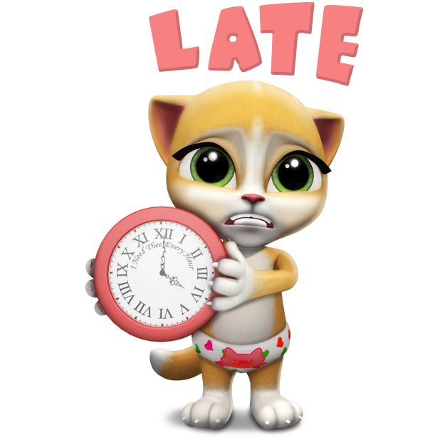 Emma The Cat - Virtual Pet Games for Kids messages sticker-0