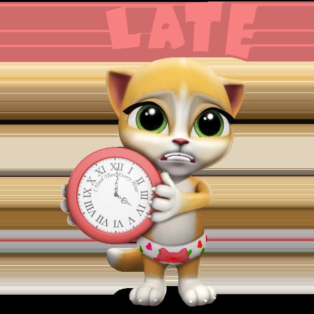 My Talking Virtual Cat Emma messages sticker-0