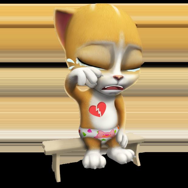 My Talking Virtual Cat Emma messages sticker-3