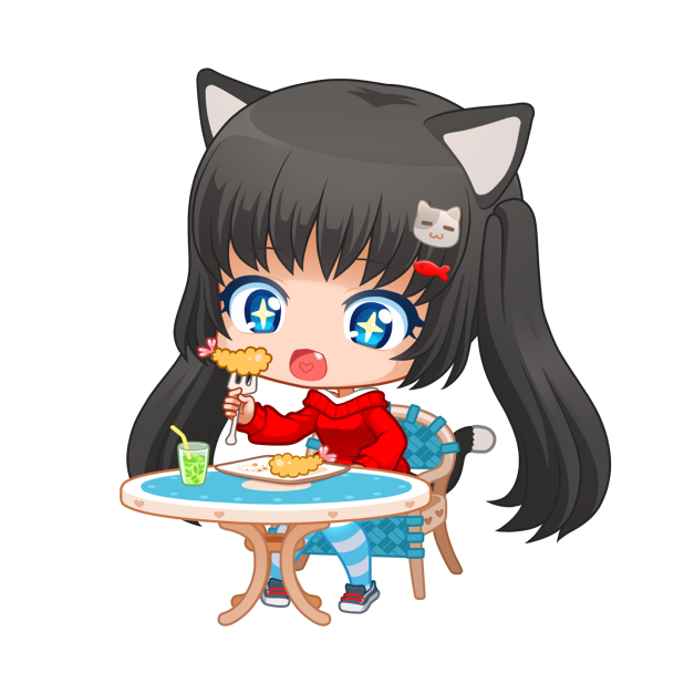 Nyao Nyanko Stickers messages sticker-3