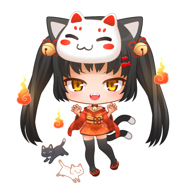 Nyao Nyanko Stickers messages sticker-10