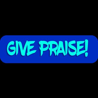 Praise Stickers messages sticker-4