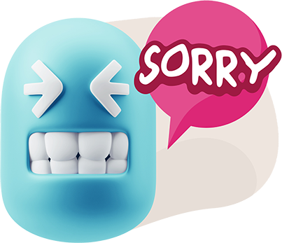 3D Thank You, Sorry, Never Mind, It's Okay! messages sticker-3
