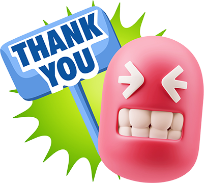 3D Thank You, Sorry, Never Mind, It's Okay! messages sticker-6