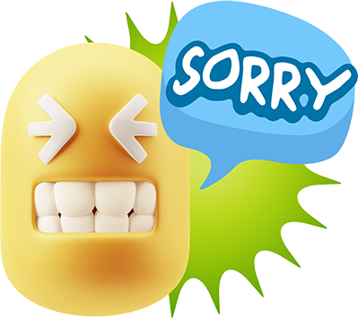 3D Thank You, Sorry, Never Mind, It's Okay! messages sticker-7
