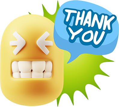 3D Thank You, Sorry, Never Mind, It's Okay! messages sticker-2