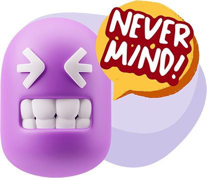 3D Thank You, Sorry, Never Mind, It's Okay! messages sticker-10