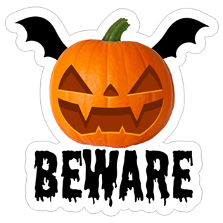 Crazy Pumpkin - Halloween Stickers for iMessage messages sticker-7
