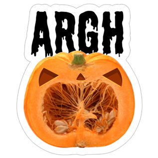 Crazy Pumpkin - Halloween Stickers for iMessage messages sticker-2