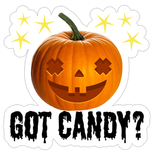 Crazy Pumpkin - Halloween Stickers for iMessage messages sticker-6