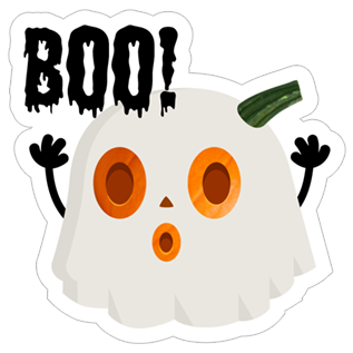 Crazy Pumpkin - Halloween Stickers for iMessage messages sticker-3