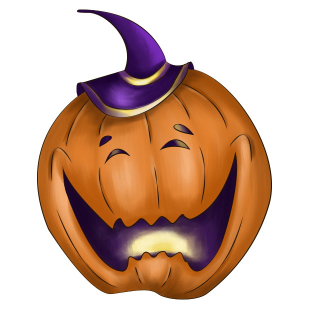 Halloween Pumpkin Original messages sticker-11