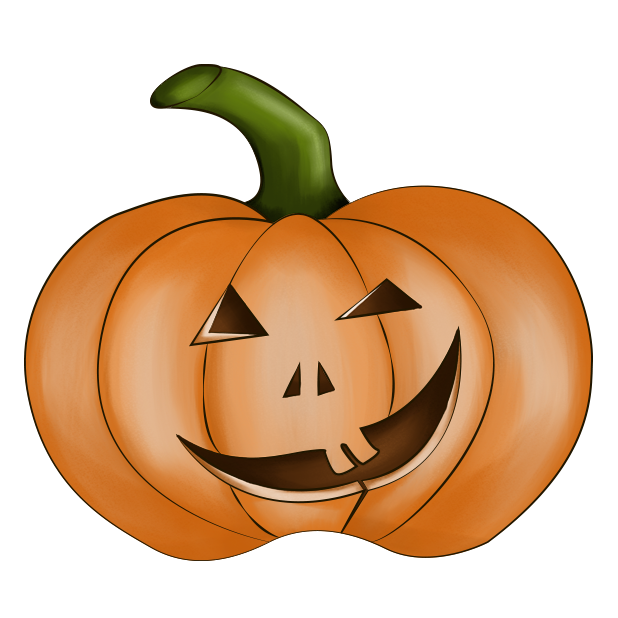 Halloween Pumpkin Original messages sticker-7