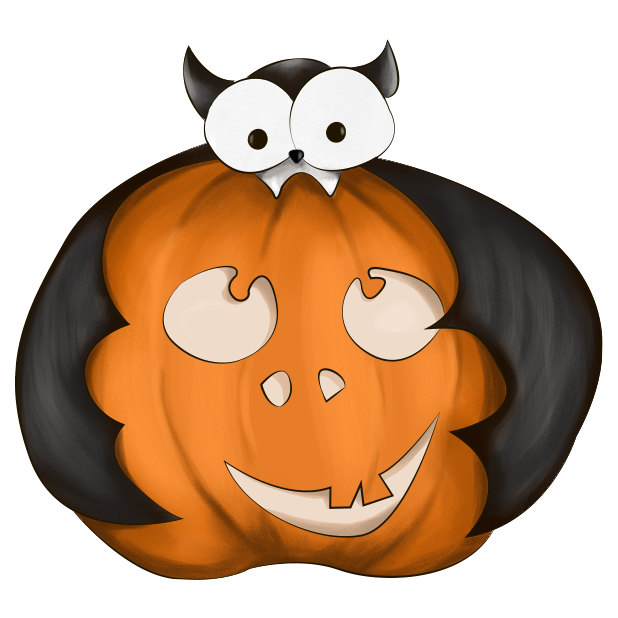 Halloween Pumpkin Original messages sticker-1