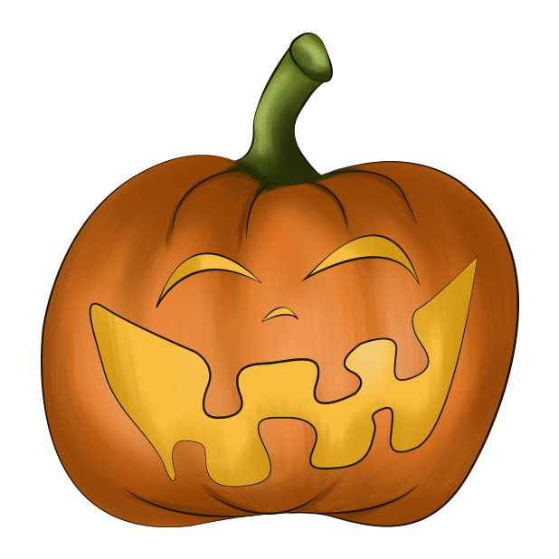 Halloween Pumpkin Original messages sticker-10