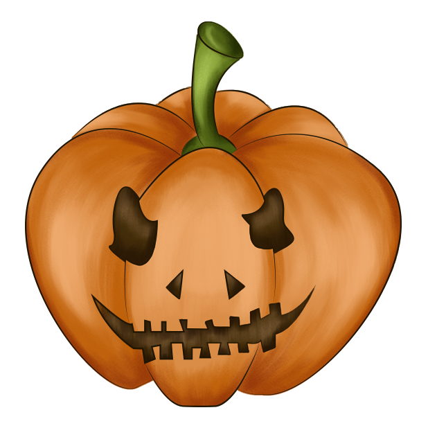Halloween Pumpkin Original messages sticker-3