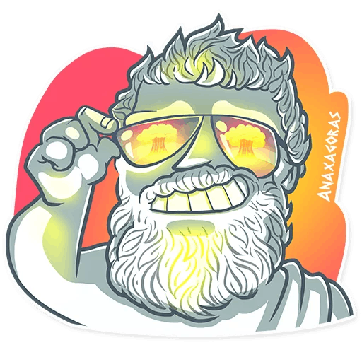 Ancient Greeks - Stickers for iMessage messages sticker-6