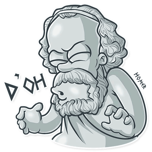 Ancient Greeks - Stickers for iMessage messages sticker-9