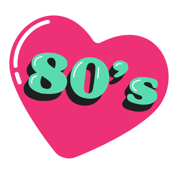 80s Baby messages sticker-4