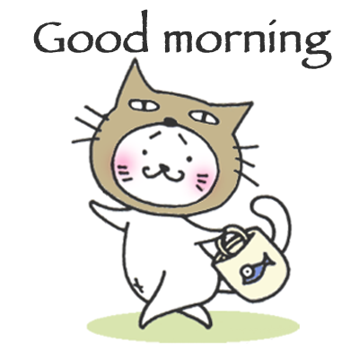 Kitty Cat Mayuneko Stickers Free messages sticker-3