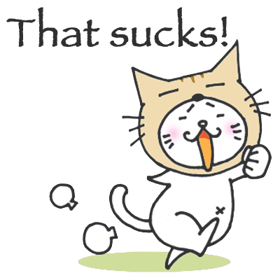 Kitty Cat Mayuneko Stickers Free messages sticker-7
