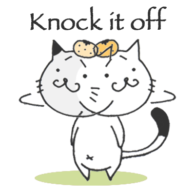 Kitty Cat Mayuneko Stickers Free messages sticker-8