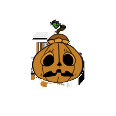 Jack-O-pumkin messages sticker-2