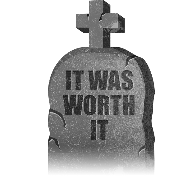 Halloween GraveStones messages sticker-7