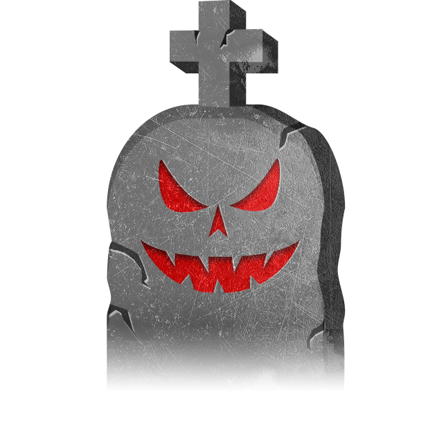 Halloween GraveStones messages sticker-0