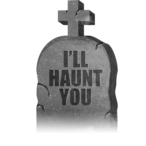 Halloween GraveStones messages sticker-5