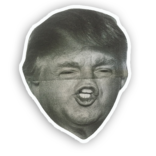 Trump Folds messages sticker-4