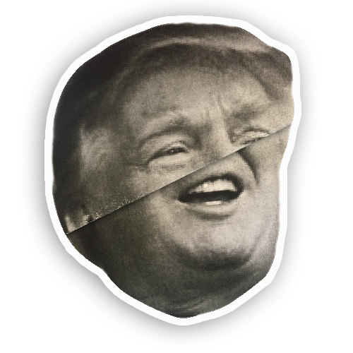 Trump Folds messages sticker-10