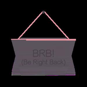 Hang a Sign! (Pink/Dark Violet) messages sticker-8