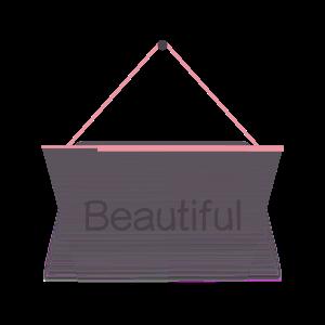 Hang a Sign! (Pink/Dark Violet) messages sticker-11