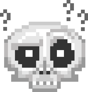 Pixel Skull Stickers For iMessage messages sticker-5