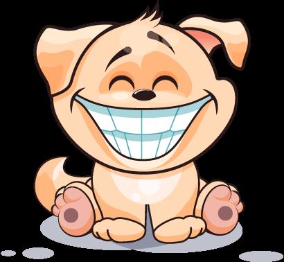 Dog Cute Sticker Pack 02 messages sticker-5