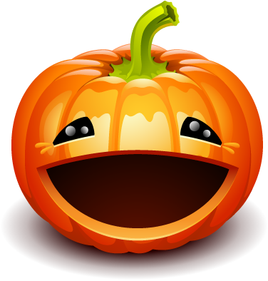 Pumpkin Happy Halloween Sticker messages sticker-5