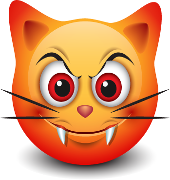 Cat Emotion Cute Sticker messages sticker-11