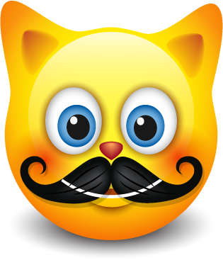 Cat Emotion Cute Sticker messages sticker-7