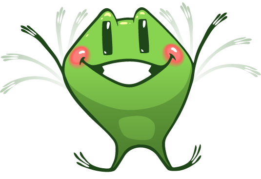 Frog Emotion Cute Sticker messages sticker-5