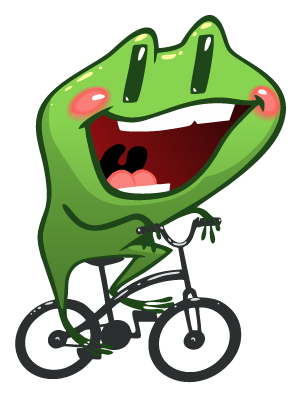 Frog Emotion Cute Sticker messages sticker-9